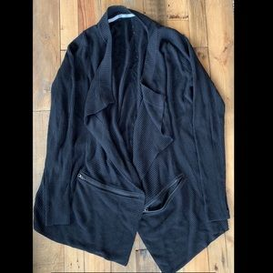 Lululemon black cardigan